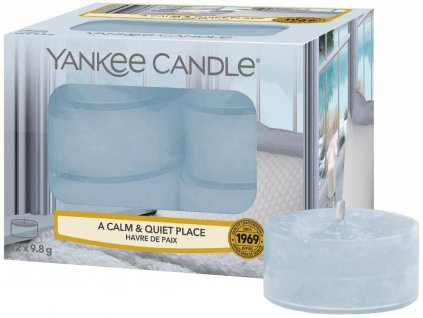 10076 yankee candle cajove svicky a calm quiet place 12 ks