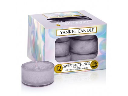 10139 yankee candle cajove svicky sweet nothings 12 ks