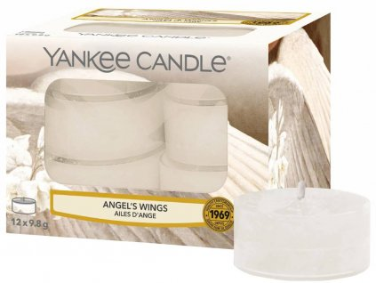 7820 yankee candle cajove svicky angel s wings 12 ks